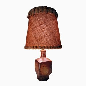 Mid-Century Table Lamp by Gustave Tiffoche