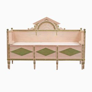 Swedish Gustavian Bench, 1800