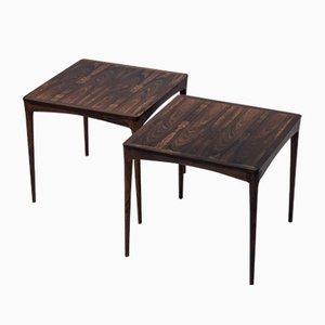 Side Tables by Torbjørn Afdal for Haug Snekkeri, 1950s, Set of 2