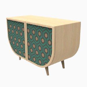 Grünes Reverie Sideboard von Zpstudio für Dialetto Design