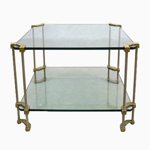 Glass Coffee Table by Peter Ghyczy, 1970s