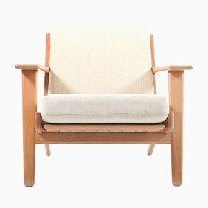 GE-290 Teak Easy Chair by Hans J.Wegner for Getama, 1960s