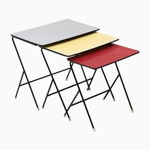 Tavolini a incastro vintage di Pilastro