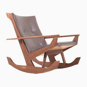 Teak Rocking Chair by Georg Jensen for Kubus, 1960s