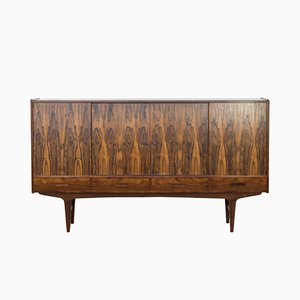 Vintage Danish Highboard in Rio Rosewood, 1960s