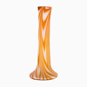 Single-Flower Large Vase in Glass, 1970s