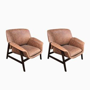 Modell 849 Sessel von Gianfranco Frattini für Cassina, 1957, 2er Set