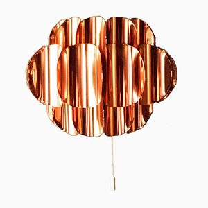 Copper Wall Light by Hans Agne Jakobsson for Temde, 1960s