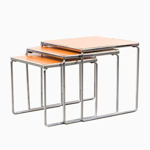 Chrome Nesting Tables, 1960s