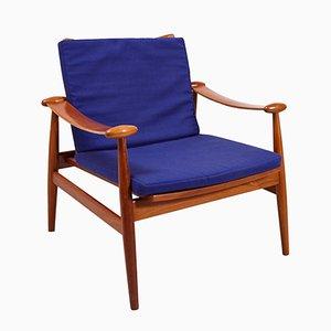 Model 133 Lounge Chair by Finn Juhl for France & Søn, 1960s