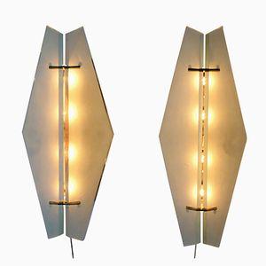 Vintage Modell 1943 Wandlampen von Max Ingrand für Fontana Arte