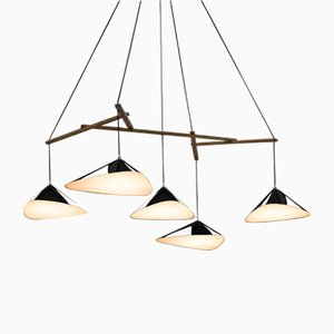 Emily Group of Five High Gloss Pendant by Daniel Becker