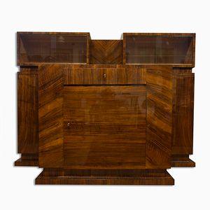 Functionalist Walnut Veneer Sideboard by Vlastimil Brožek, 1930s