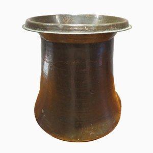 Antiker Kupfer Pflanzer