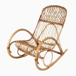 Scopri sedie a dondolo vintage online at pamono for Sedia a dondolo in vimini