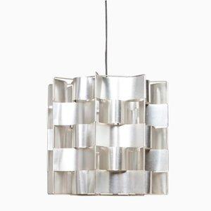 Aluminium Hanging Lamp by Max Sauze for Studio Max Sauze, 1960s
