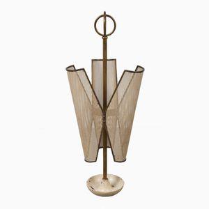 Perforierter Metall Schirmständer, 1950er