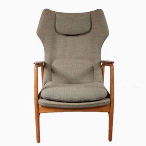 Armlehnstuhl mit Hoher Rückenlehne von Aksel Bender Madsen für Bovenkamp, 1950er
