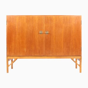 Danish Oak Cabinet by Børge Mogensen for FDB, 1950s