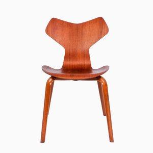 Modell 3130 Stuhl von Arne Jacobsen für Fritz Hansen, 1964