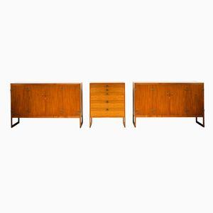 BM57 Sideboards & Dresser by Børge Mogensen for P. Lauritsen & Son, 1960s, Set of 3