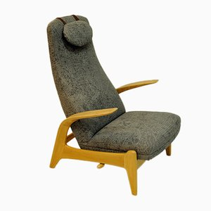 Norwegischer Rock 'n Rest Sessel von Rolf Rastad & Adolf Relling für Dux, 1960er