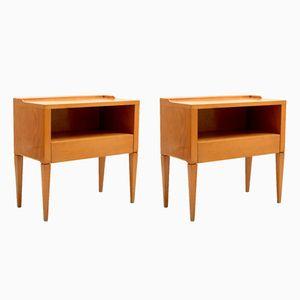 Tables de Chevet, Italie, 1950s, Set de 2