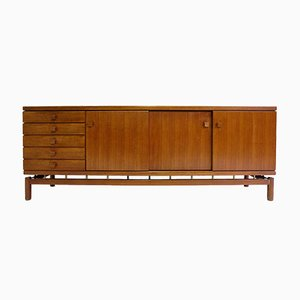 Teak Sideboard by Ilmari Tapiovaara for La Permanente Cantù, 1957