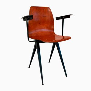 Model S19 Chair with Armrests from Galvanitas, 1960s