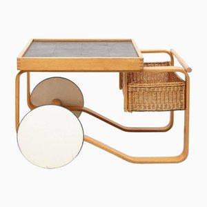Model 900 Tea Trolley by Alvar Aalto for Artek