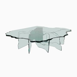 Shell Coffee Table by Danny Lane for Fiam, 1980s