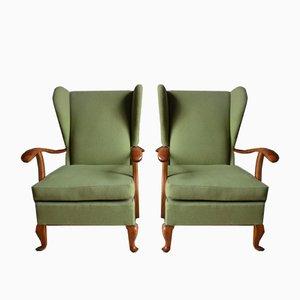 Mid-Century Italian Armchairs by Paolo Buffa, 1964, Set of 2