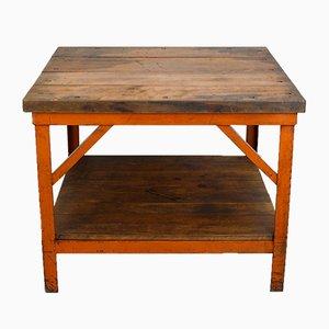 Tavolo vintage rustico, anni '30