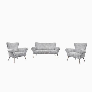 Italian Living Room Set, 1950