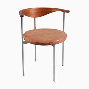3200 Schreibtisch- oder Beistellstuhl von Frederik Sieck für Fritz Hansen, 1960er