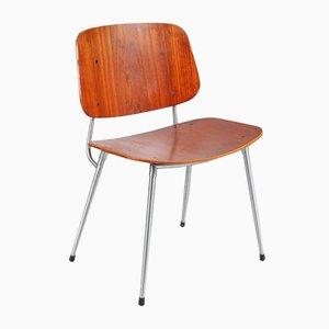 Plywood Dining Chair by Børge Mogensen for Søborg Møbelfabrik, 1953