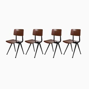 Result Chairs by Friso Kramer for Ahrend de Cirkel, 1960s, Set of 4