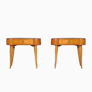 Tables de Chevet Mid-Century, France, 1960s, Set de 2