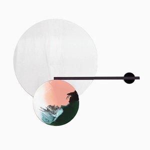 Balance-Mirror No. 08 with Shelf by Elisa Strozyk
