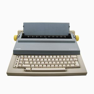 Vintage ET 55 Typewriter by Bellini & Chiarato for Olivetti, 1980s