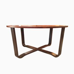 Scandinavian Rosewood Coffee Table by A. Tibro for Ulferts Fabriker AB, 1960s