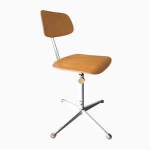 Vintage Industrial Office Chair by Friso Kramer for Ahrend De Cirkel