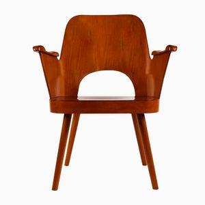 Mid-Century Armchair by Oswald Haerdtl for TON, 1950s