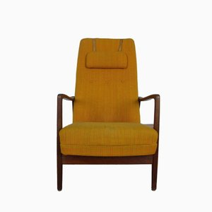 High Back Model 829 Armchair by Gio Ponti for Cassina, 1960s