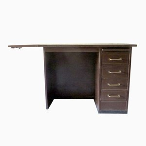 Small Industrial Metal Desk from Roneo, 1960s