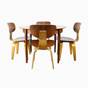 Dining Set by Cees Braakman for UMS Pastoe, 1952