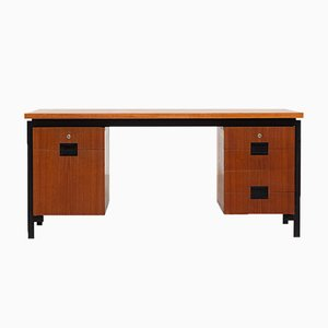 Model EU02 Teak Desk by Cees Braakman for Pastoe, 1960s