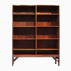 Rosewood Shelving Unit by Børge Mogensen for FDB, 1960s