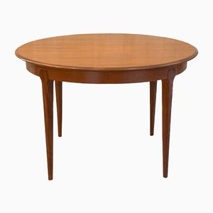 Scandinavian Circular Table in Teak, 1960s