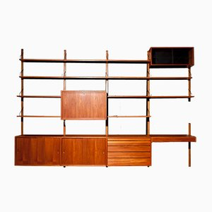 Modular Royal System Wall Unit by Poul Cadovius for Cado, 1960s